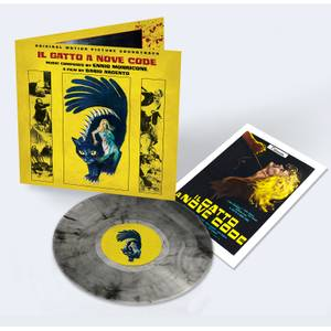 ll Gatto a Nove Code (Original Motion Picture Soundtrack) LP (Transparent Black Cat Smoke)