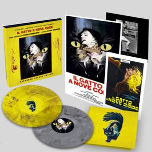 ll Gatto a Nove Code (Expanded Motion Picture Soundtrack) 2xLP (Yellow Smoke & Silver Marble)