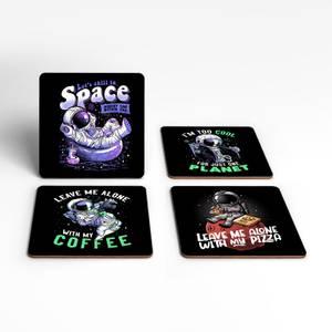 Anti Social Astronauts Coaster Set