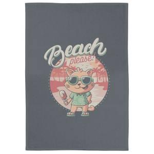 Beach Please Tea Towel