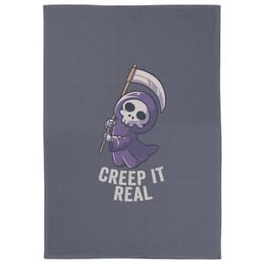 Creep It Real Tea Towel
