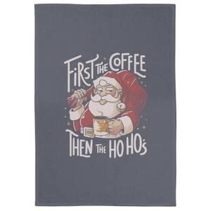 First The Coffee Tea Towel