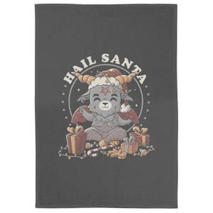 Hail Santa Tea Towel