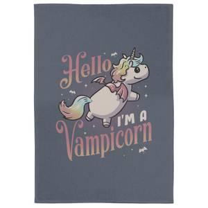 Hello, I'm A Vampicorn Tea Towel