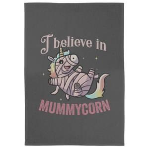 I Believe In Mummycorn Tea Towel