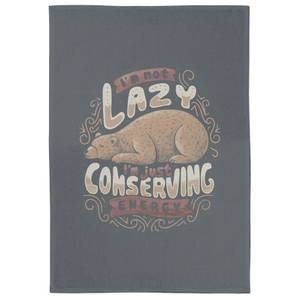 Lazy Bear Tea Towel