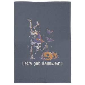 Lets Get Halloweird Tea Towel
