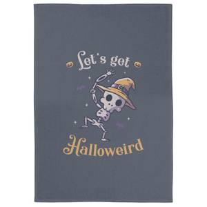 Lets Get Halloweird Dance Tea Towel