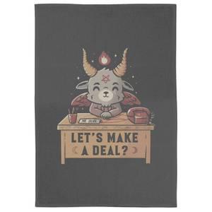 Lets Make A Deal Tea Towel