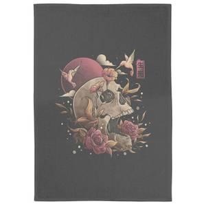 Life And Death Tea Towel