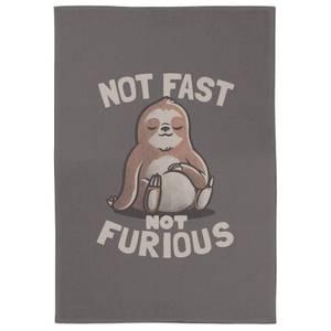 Not Fast Not Furious Tea Towel