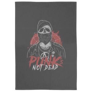 Punks Not Dead Tea Towel