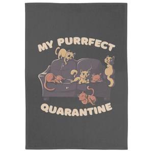 Purrfect Quarantine Tea Towel