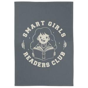 Smart Girls Readers Club Tea Towel