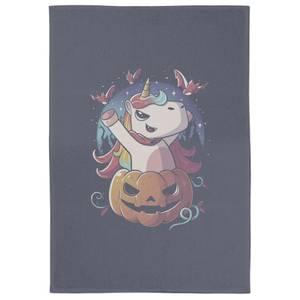 Spooky Unicorn Tea Towel