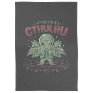 Summoning Cthulhu Tea Towel