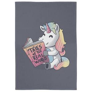 Tales Of The Real World Tea Towel