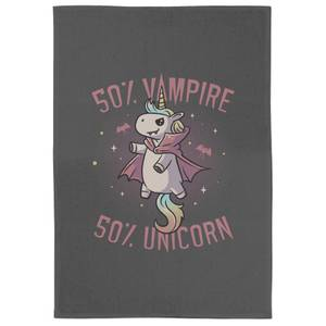 Vampire Unicorn Tea Towel