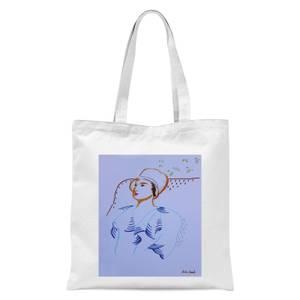 Autumn Arriving Tote Bag - White