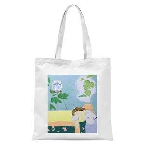 Inemuri Tote Bag - White