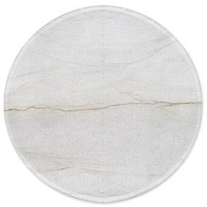Sandfärgad Round Bath Mat