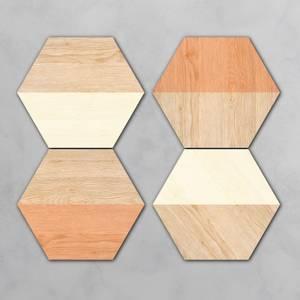 Kyrka Hexagonal Coaster Set