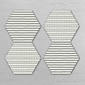 Runar Hexagonal Coaster Set