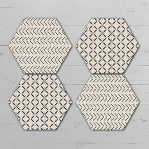 Gandir Hexagonal Coaster Set
