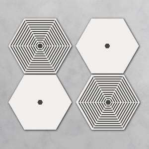 Sisu Hexagonal Coaster Set