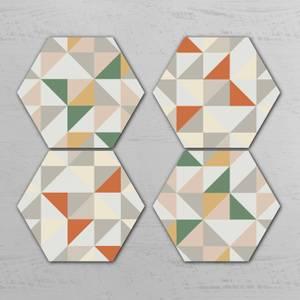 Skont Hexagonal Coaster Set