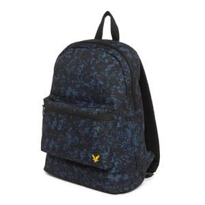 Backpack - Navy Earth Print