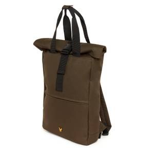 Roll Top Backpak - Olive