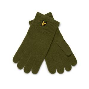 Racked rib gloves - Olive