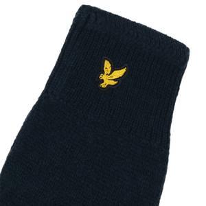 Racked rib gloves - Dark Navy