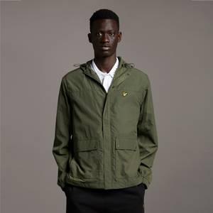 Hooded Pocket Jacket - Olive