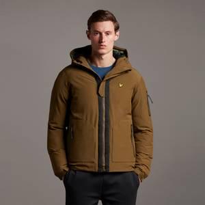 Cover Up Puffer Jacket - Khaki