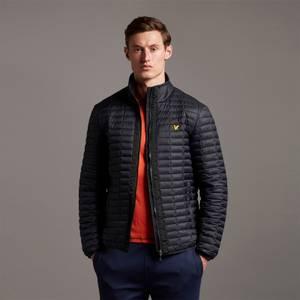 Block Quilted Jacket - True Black