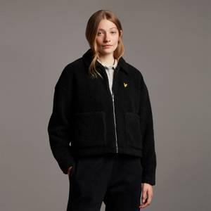 Shearling Jacket - Jet Black