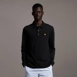 LS Polo Shirt - Jet Black