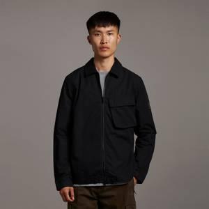 Casuals Pocket Overshirt - Jet Black