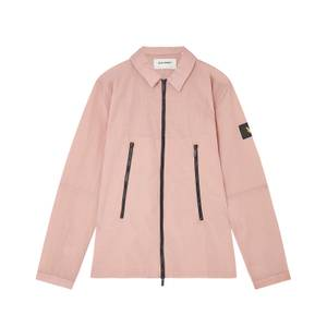 Casuals Dual Zip Overshirt - Stone Pink