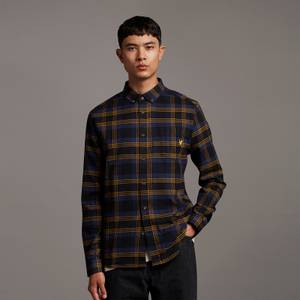 Archive Brushed Check Shirt - Chocolate