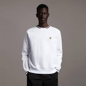 Double Tipped Sweatshirt - White