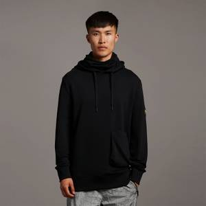 Casuals Face Covered Hoodie - Jet Black