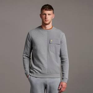 Tech Pocket Sweatshirt - Mid Grey Marl