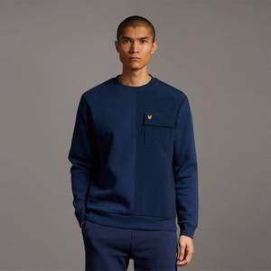 Tech Pocket Sweatshirt - Navy