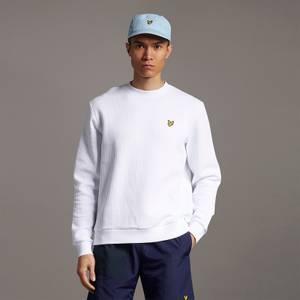 Ribbed Jersey Sweatshirt - White