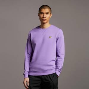 Crew Neck Sweatshirt - Amethyst