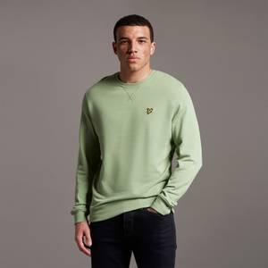 Crew Neck Sweatshirt - Fern Green
