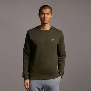 Crew Neck Sweatshirt - Olive